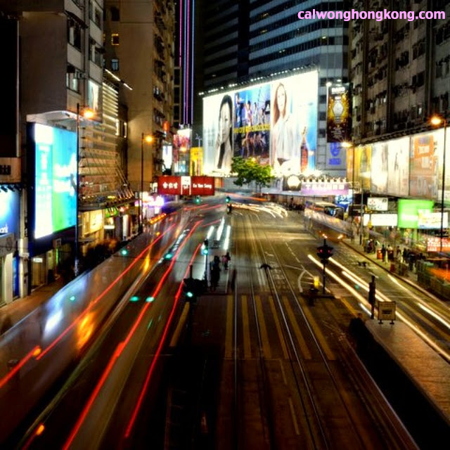 Causeway Bay by Night