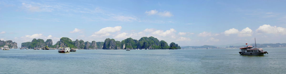 Ha Long Bay Panorama 1