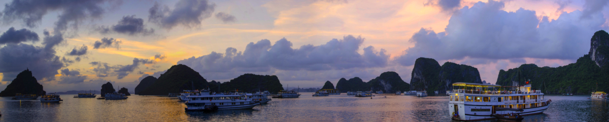 Ha Long Bay Panorama 2