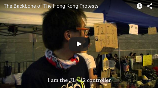 Occupy Hong Kong Protester-Volunteers